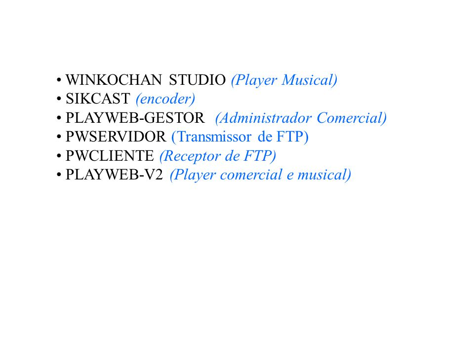WINKOCHAN STUDIO (Player Musical)