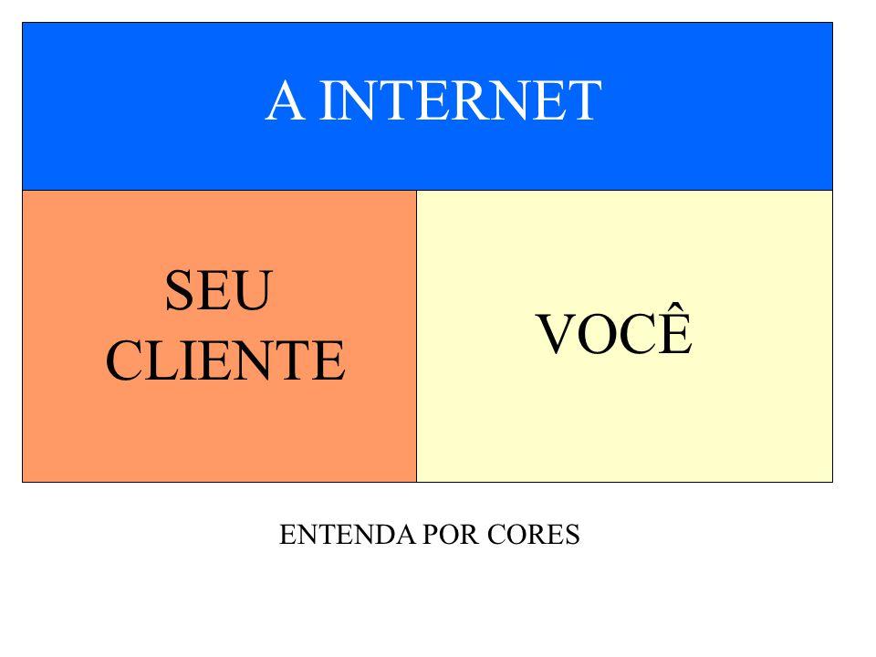 A INTERNET SEU CLIENTE VOCÊ ENTENDA POR CORES