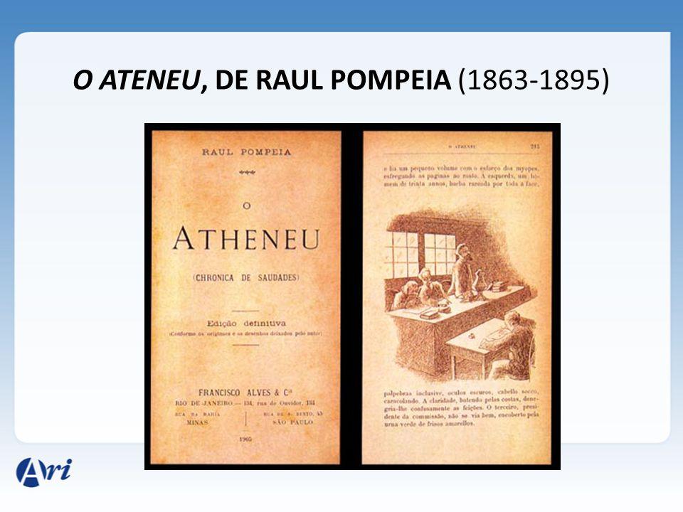 O ATENEU, DE RAUL POMPEIA (1863-1895)