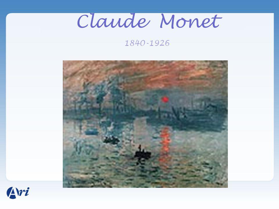 Claude Monet 1840-1926
