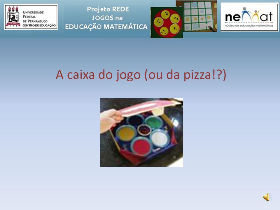 A caixa do jogo (ou da pizza! )