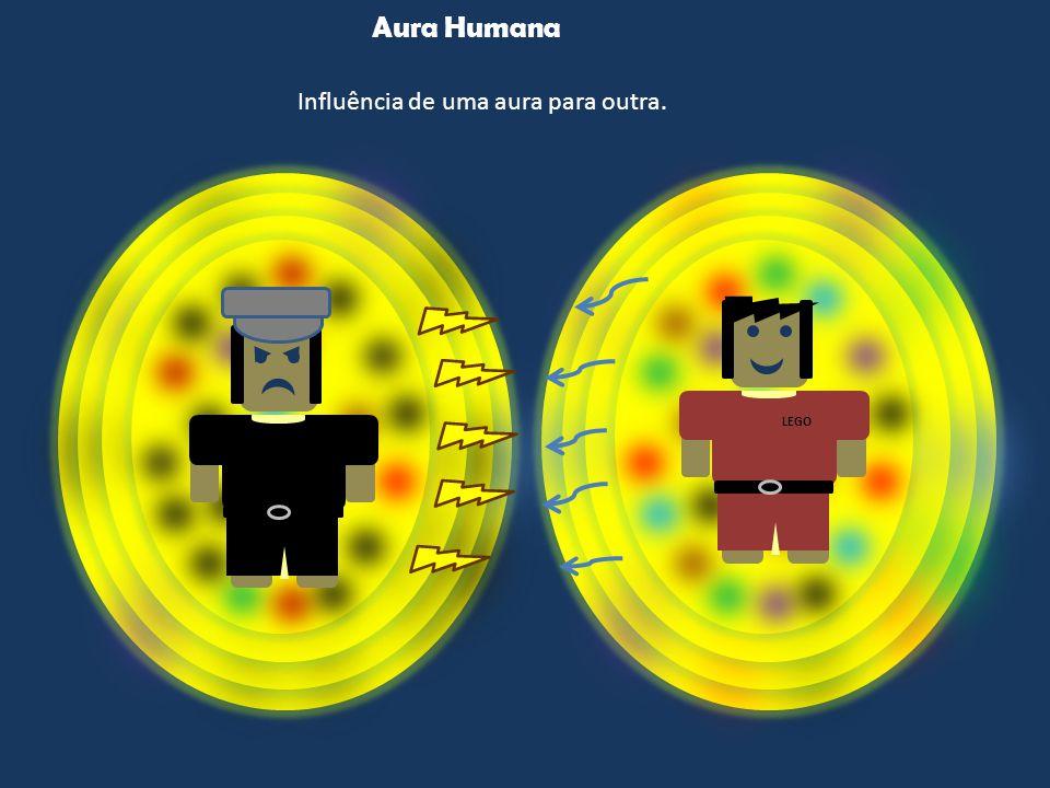 Aura Humana Influência de uma aura para outra. LEGO
