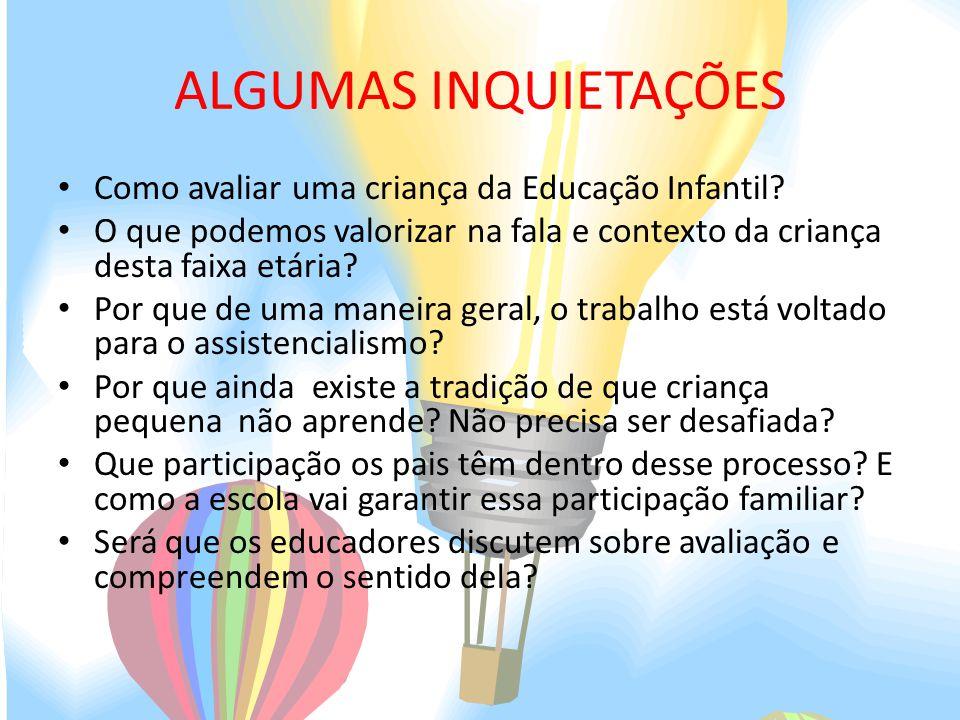 Famosos AVALIAÇÃO NA EDUCAÇÃO INFANTIL: UM PROCESSO DE PRÁTICAS  BJ96