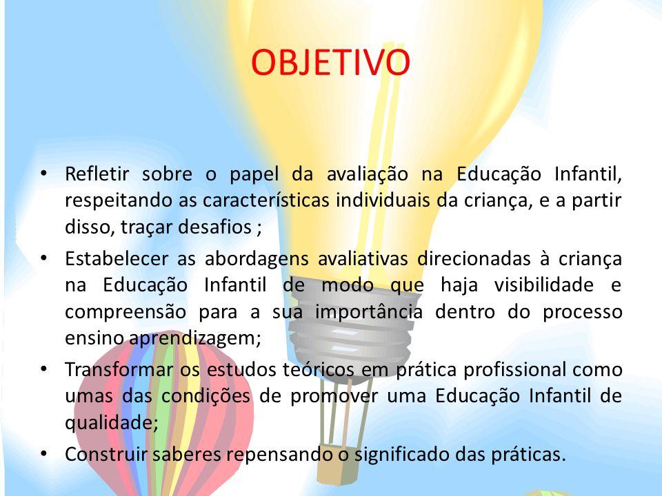 Favoritos AVALIAÇÃO NA EDUCAÇÃO INFANTIL: UM PROCESSO DE PRÁTICAS  RP88