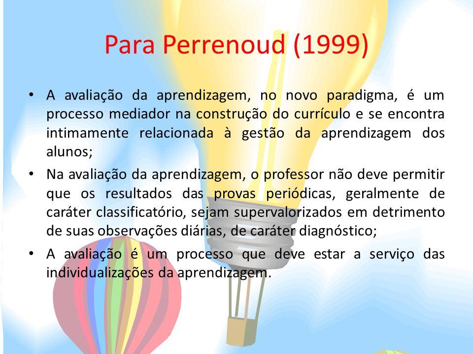 Para Perrenoud (1999)