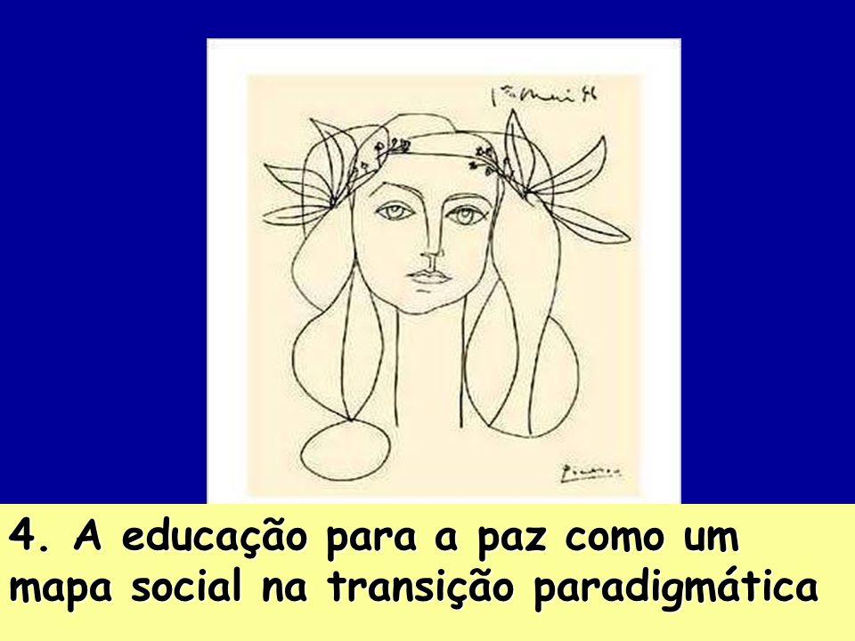 4. A educação para a paz como um mapa social na transição paradigmática