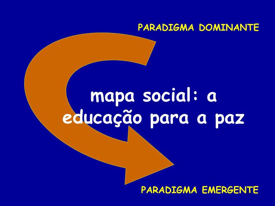 mapa social: a educação para a paz