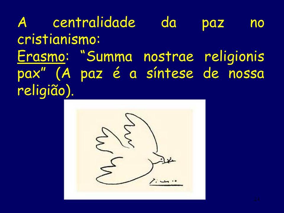 A centralidade da paz no cristianismo: