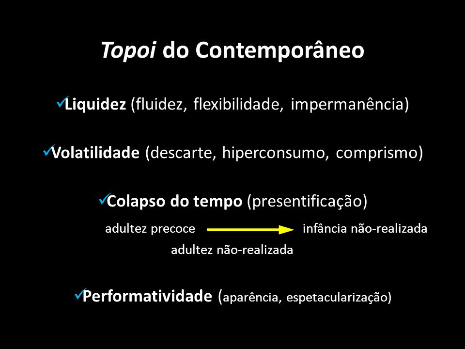 Topoi do Contemporâneo
