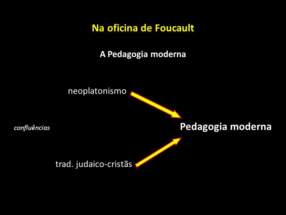 confluências Pedagogia moderna