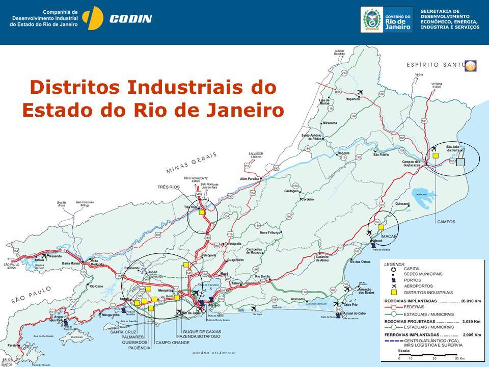 Distritos Industriais do Estado do Rio de Janeiro