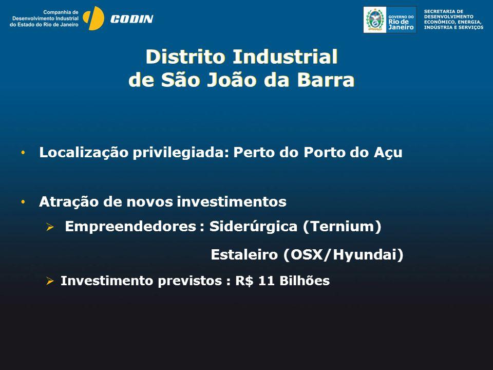 Distrito Industrial de São João da Barra Distrito Industrial