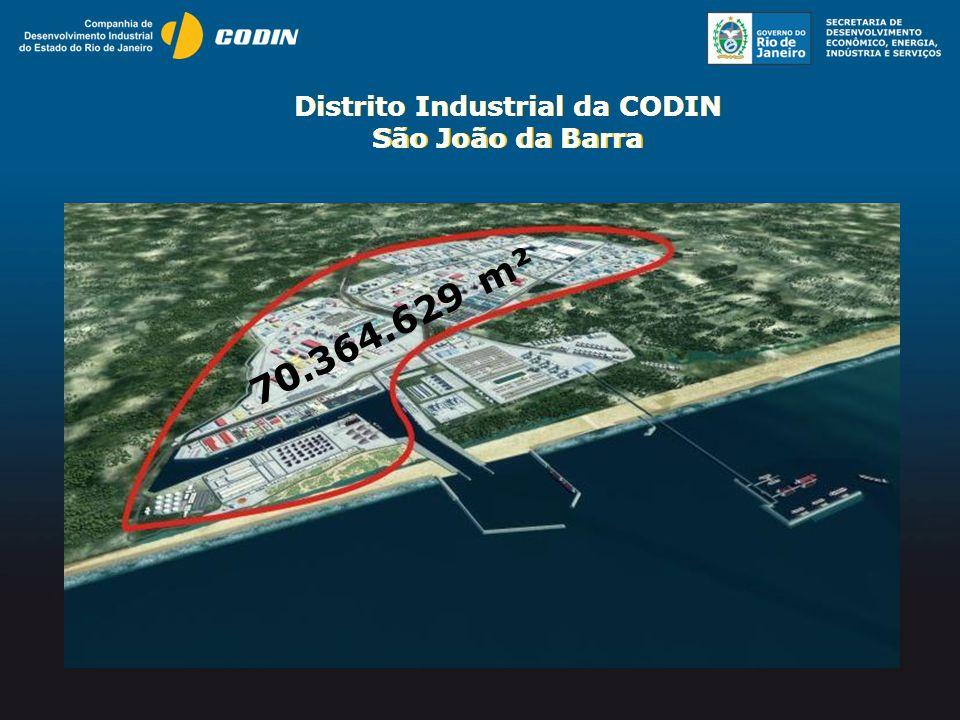 Distrito Industrial da CODIN São João da Barra