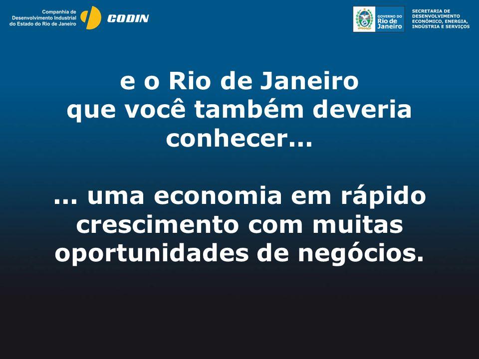 e o Rio de Janeiro que você também deveria conhecer