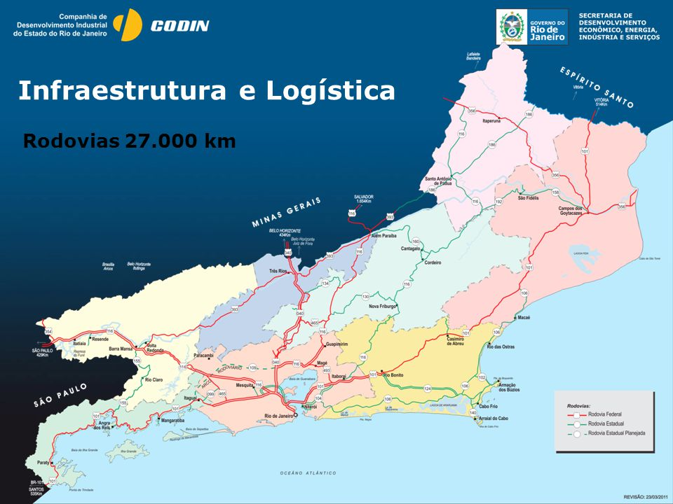 Infraestrutura e Logística