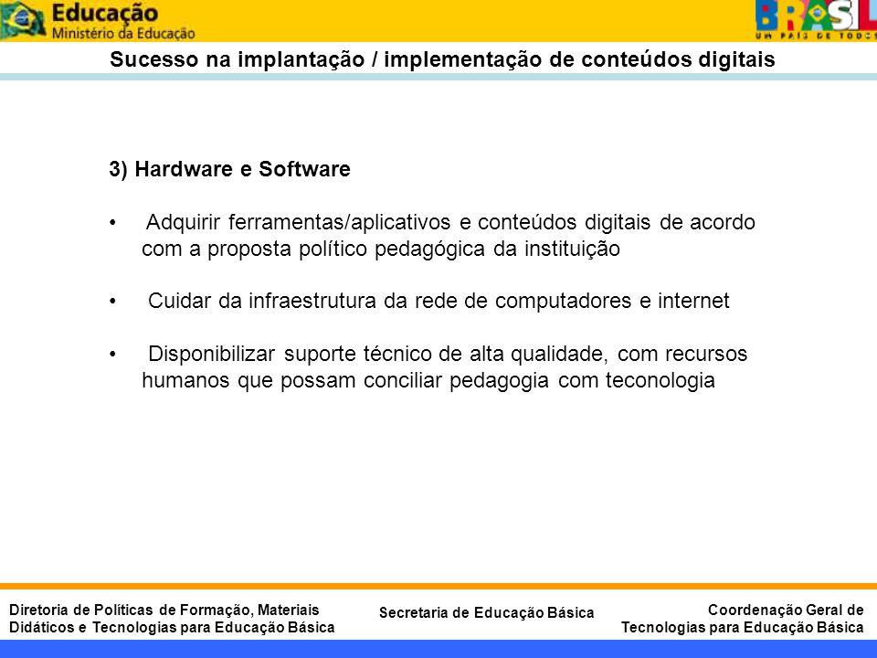 Sucesso na implantação / implementação de conteúdos digitais