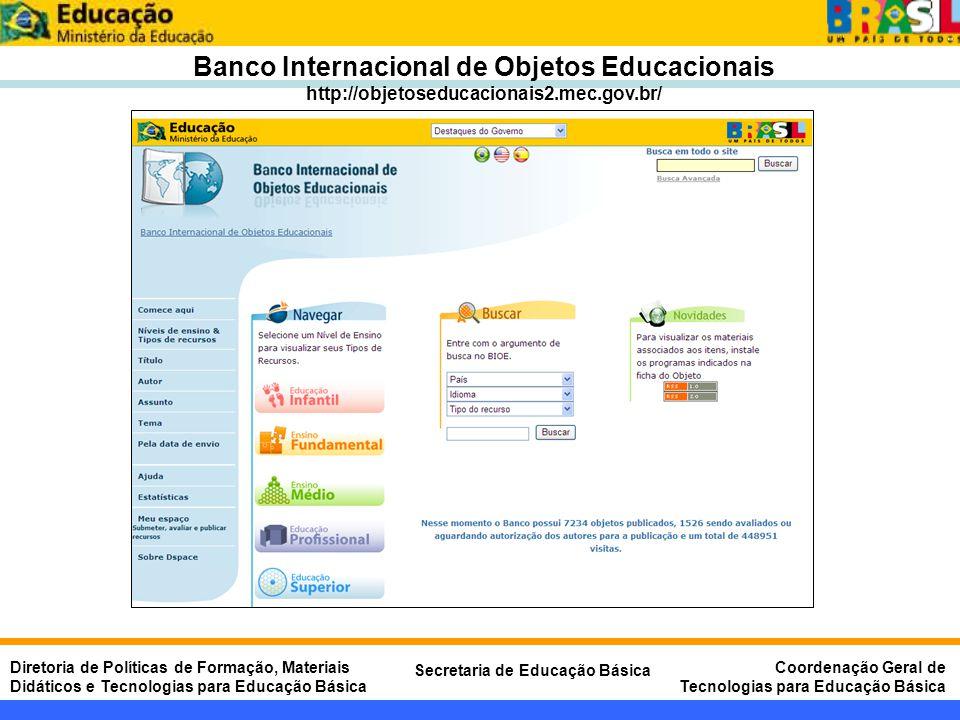 Banco Internacional de Objetos Educacionais