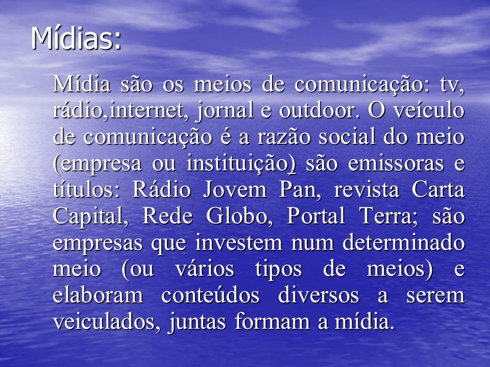 Mídias: