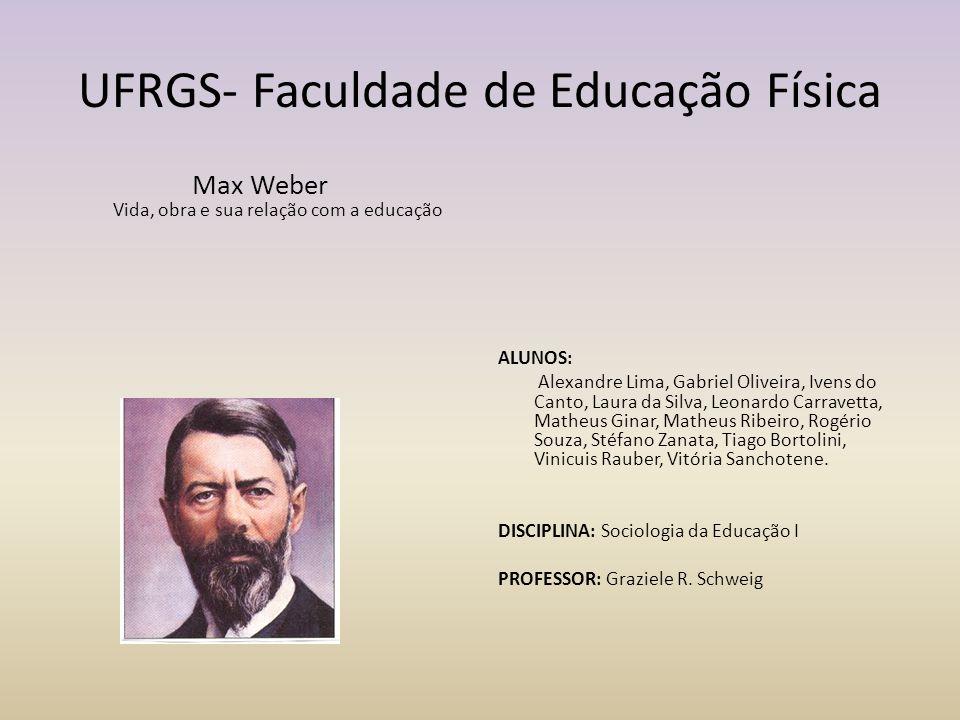 UFRGS- Faculdade de Educação Física