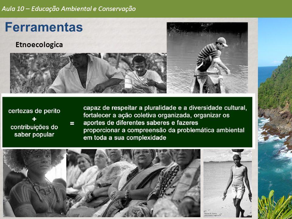 Aula 10 – Educação Ambiental e Conservação