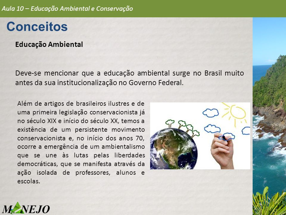 Conceitos Educação Ambiental