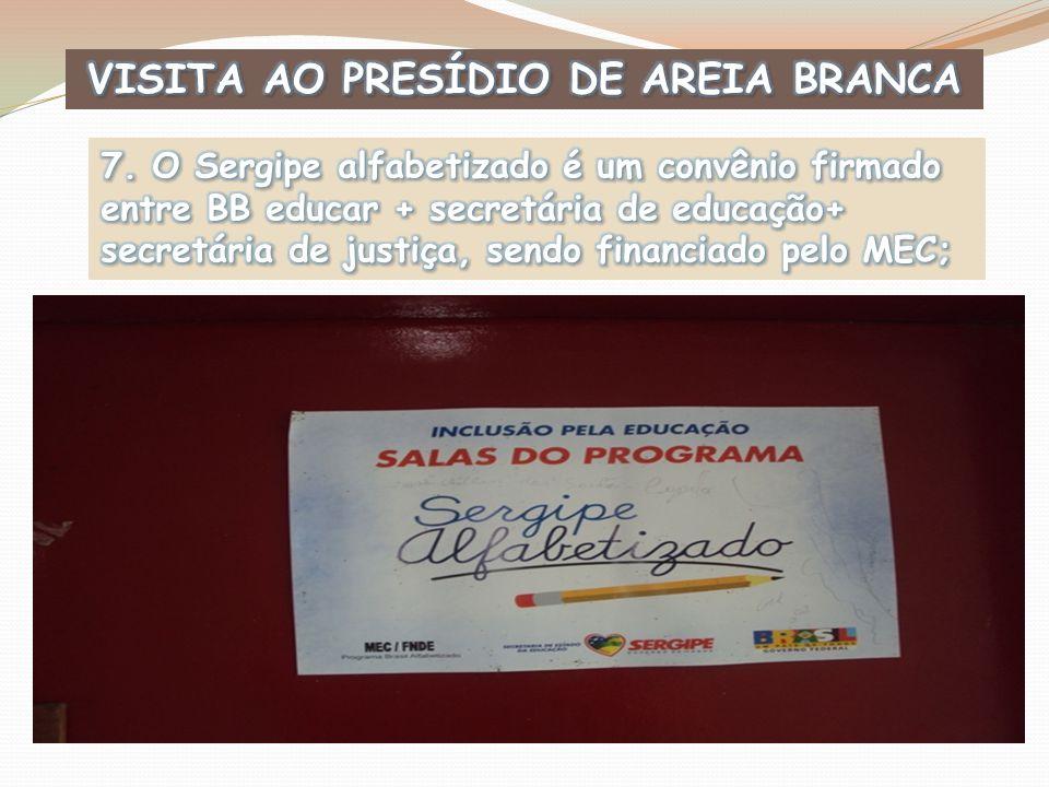 VISITA AO PRESÍDIO DE AREIA BRANCA