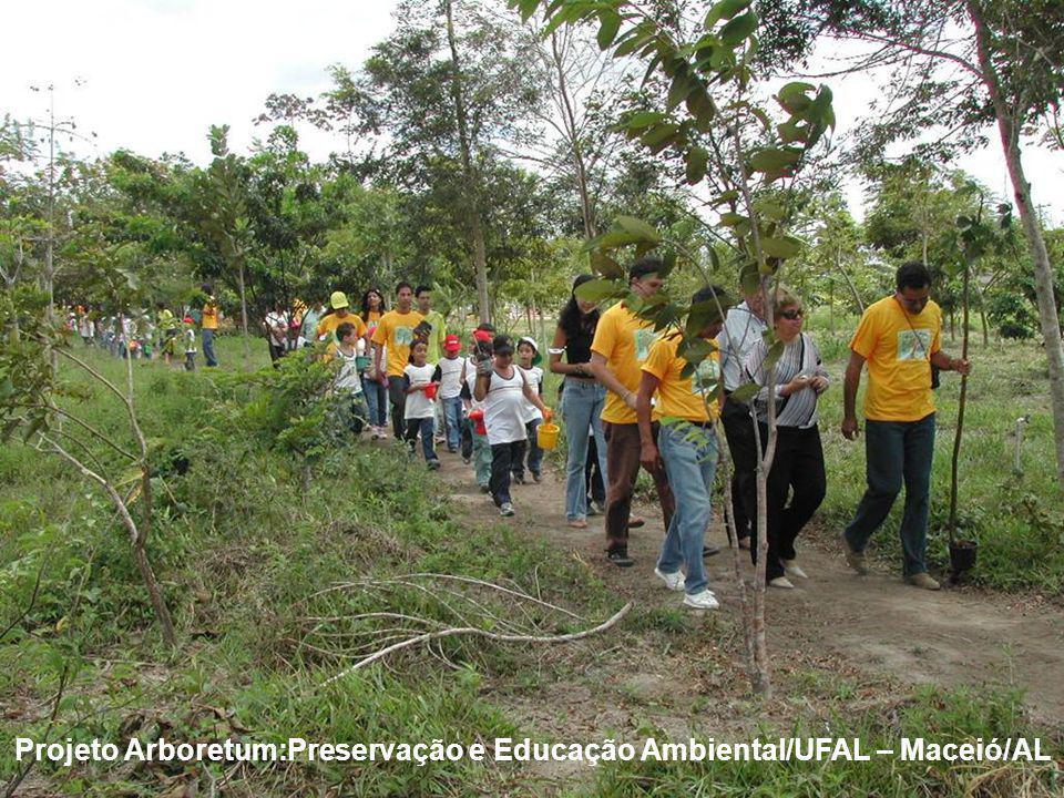 Projeto Arboretum:Preservação e Educação Ambiental/UFAL – Maceió/AL
