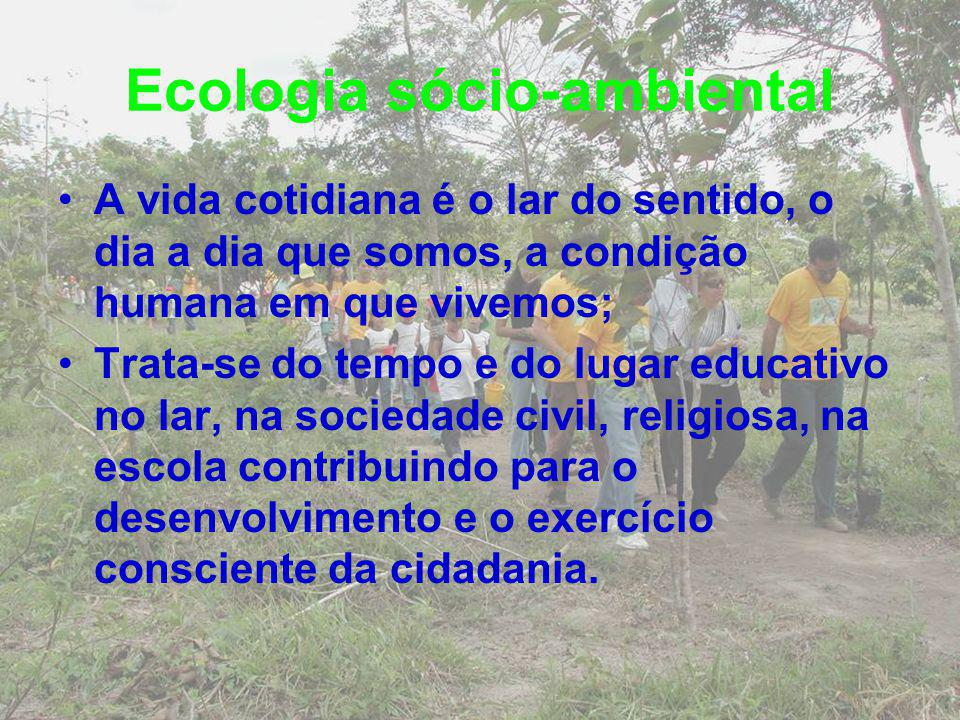 Ecologia sócio-ambiental