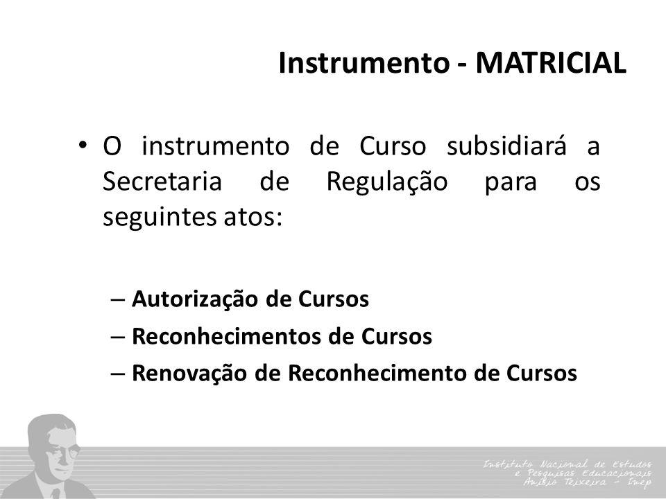 Instrumento - MATRICIAL