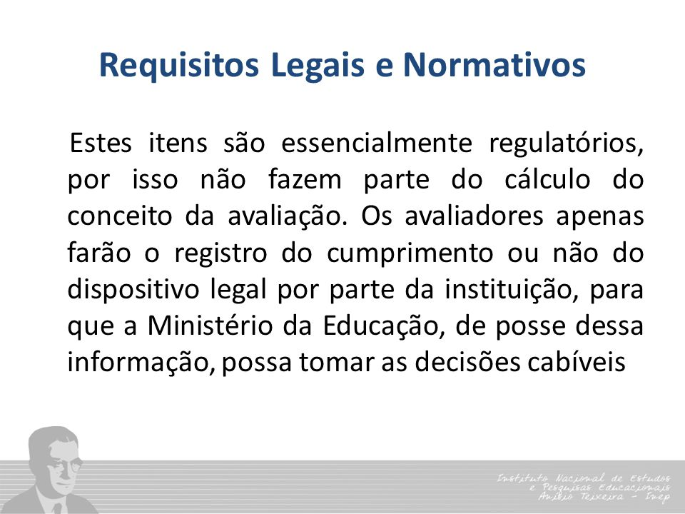 Requisitos Legais e Normativos