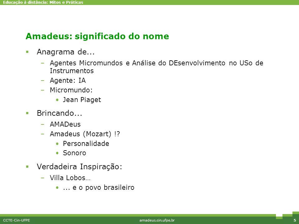 Amadeus: significado do nome