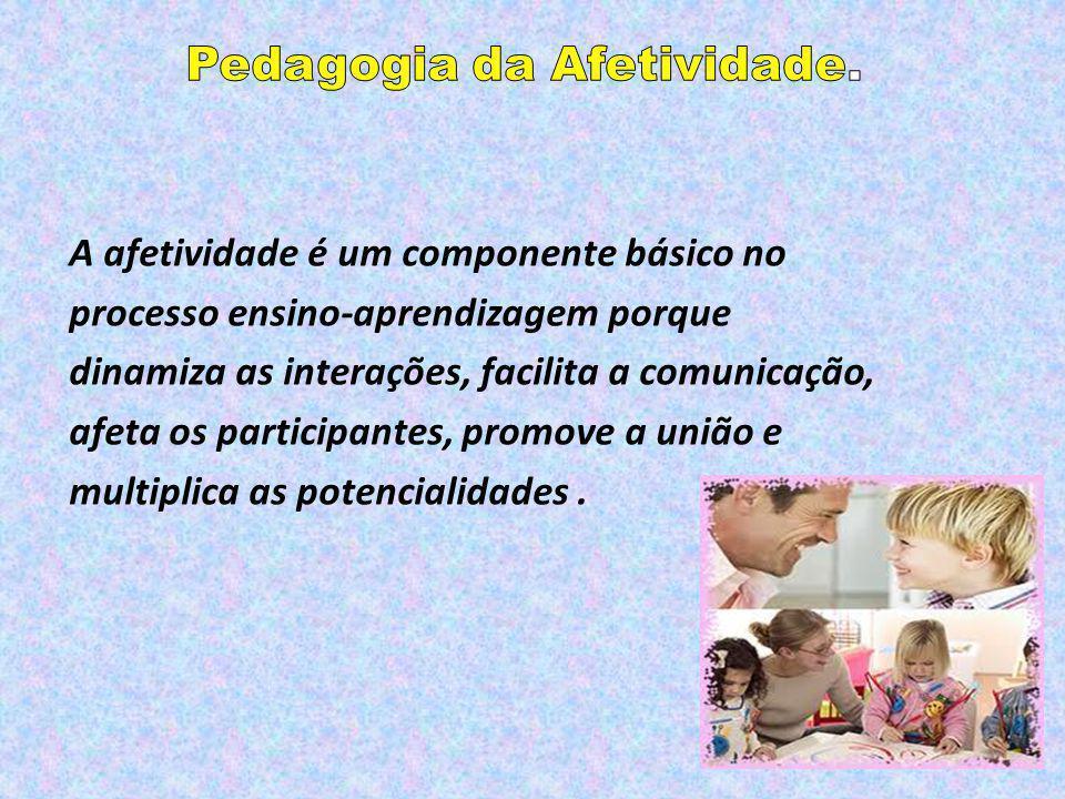 Pedagogia da Afetividade.
