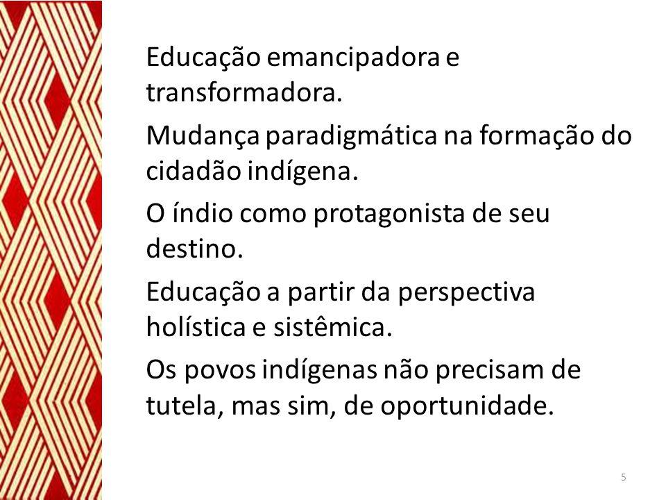Educação emancipadora e transformadora