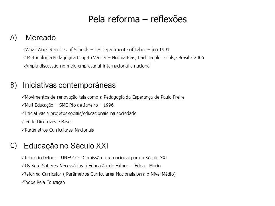 Pela reforma – reflexões