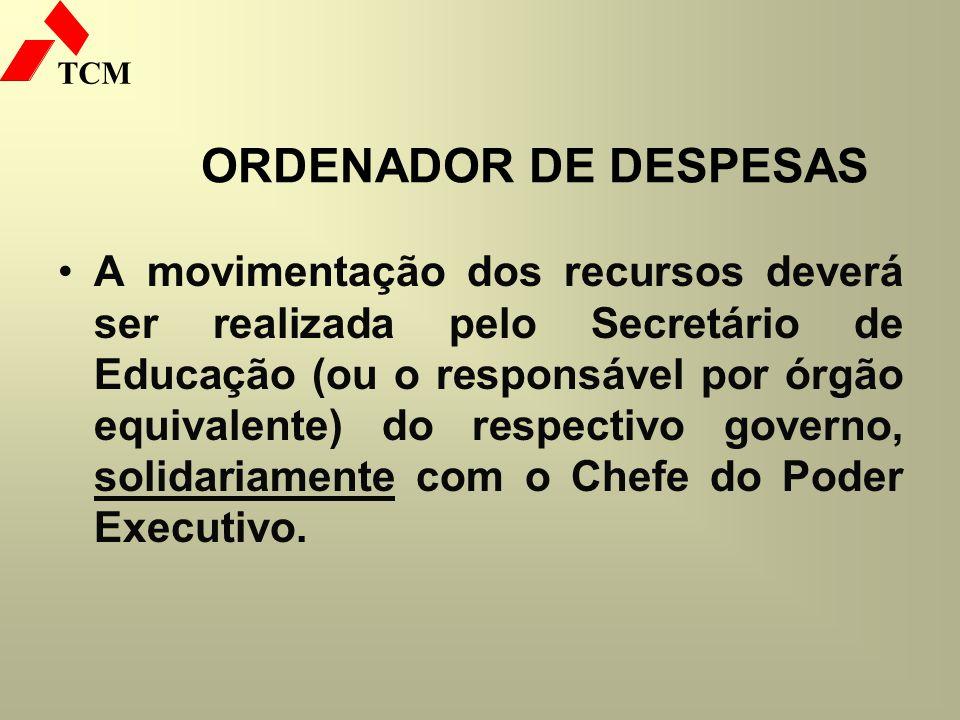 ORDENADOR DE DESPESAS