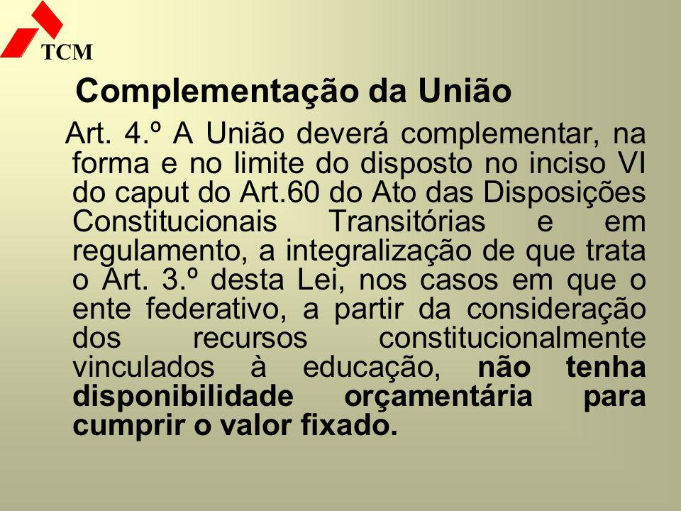 Complementação da União