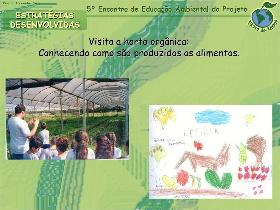 Visita a horta orgânica: Conhecendo como são produzidos os alimentos.