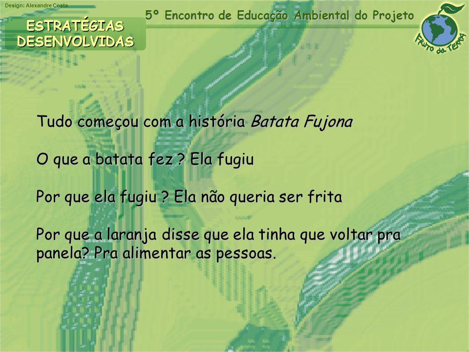 Tudo começou com a história Batata Fujona