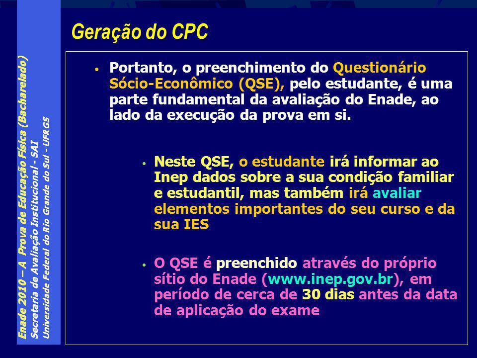 Geração do CPC