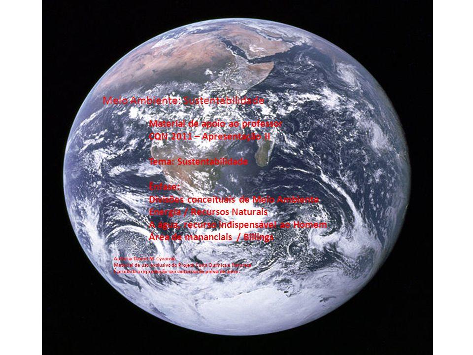 Meio Ambiente: Sustentabilidade