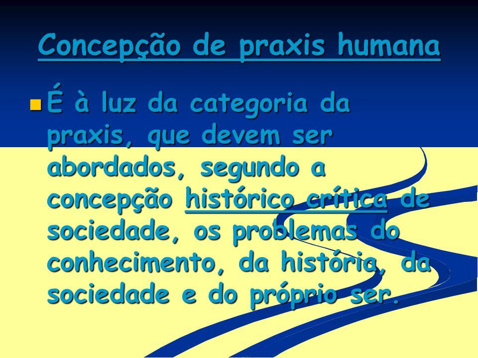 Concepção de praxis humana
