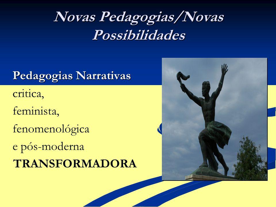 Novas Pedagogias/Novas Possibilidades