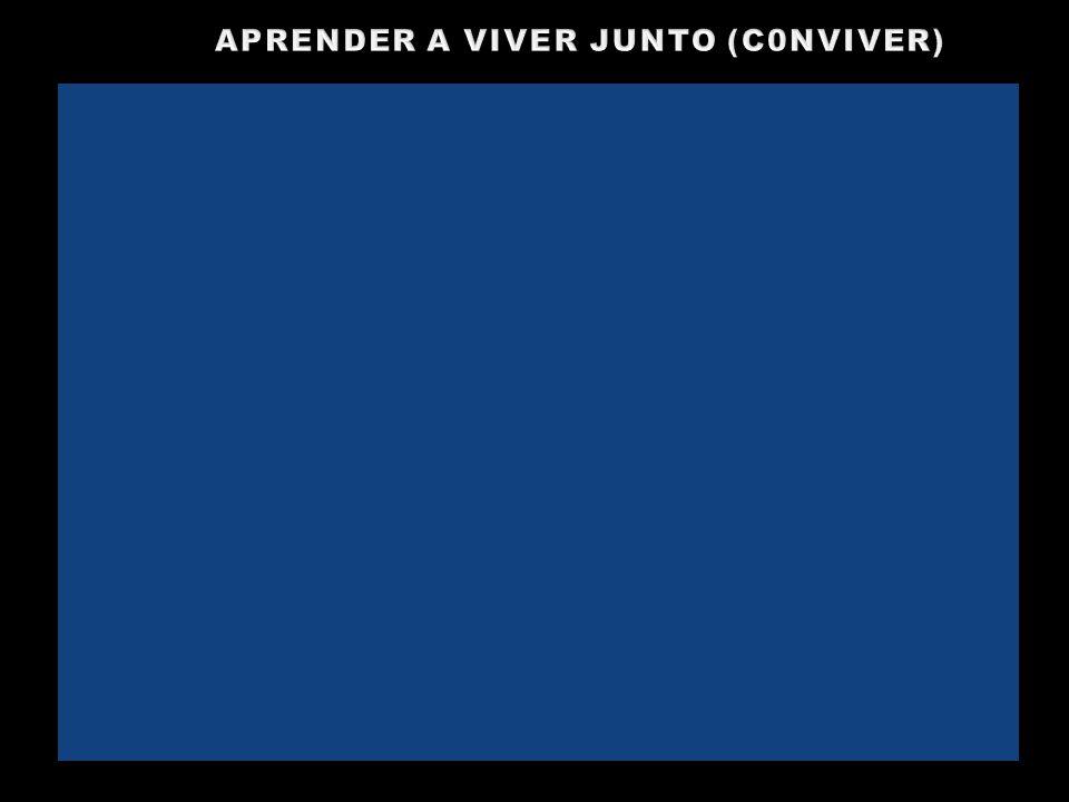 APRENDER A VIVER JUNTO (C0NVIVER)
