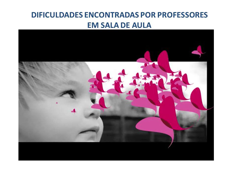 DIFICULDADES ENCONTRADAS POR PROFESSORES