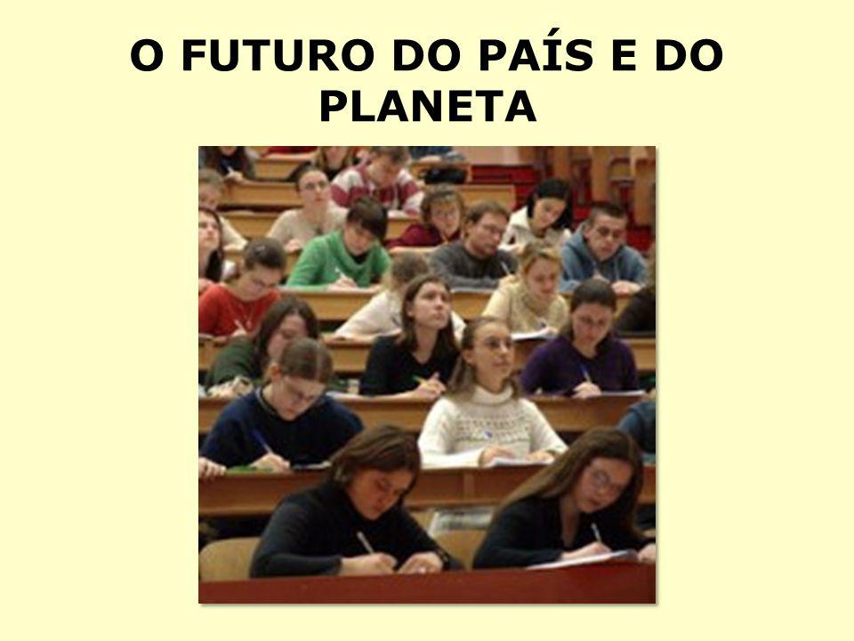 O FUTURO DO PAÍS E DO PLANETA