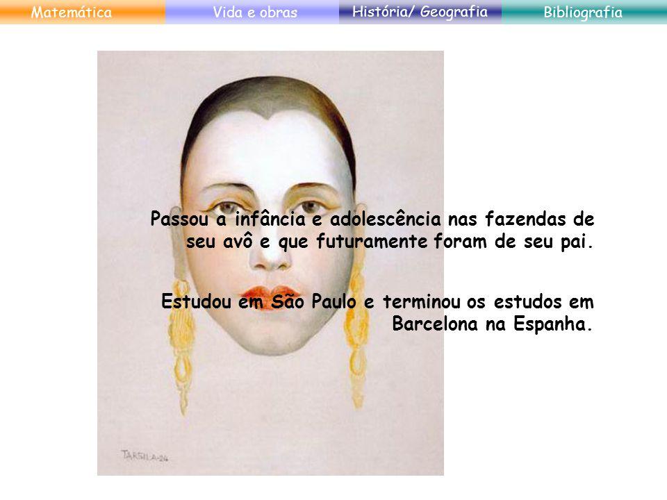 Estudou em São Paulo e terminou os estudos em Barcelona na Espanha.