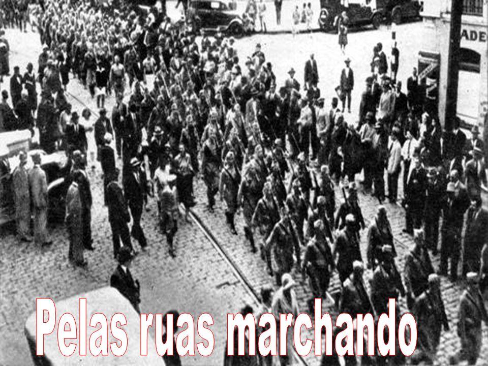 Pelas ruas marchando