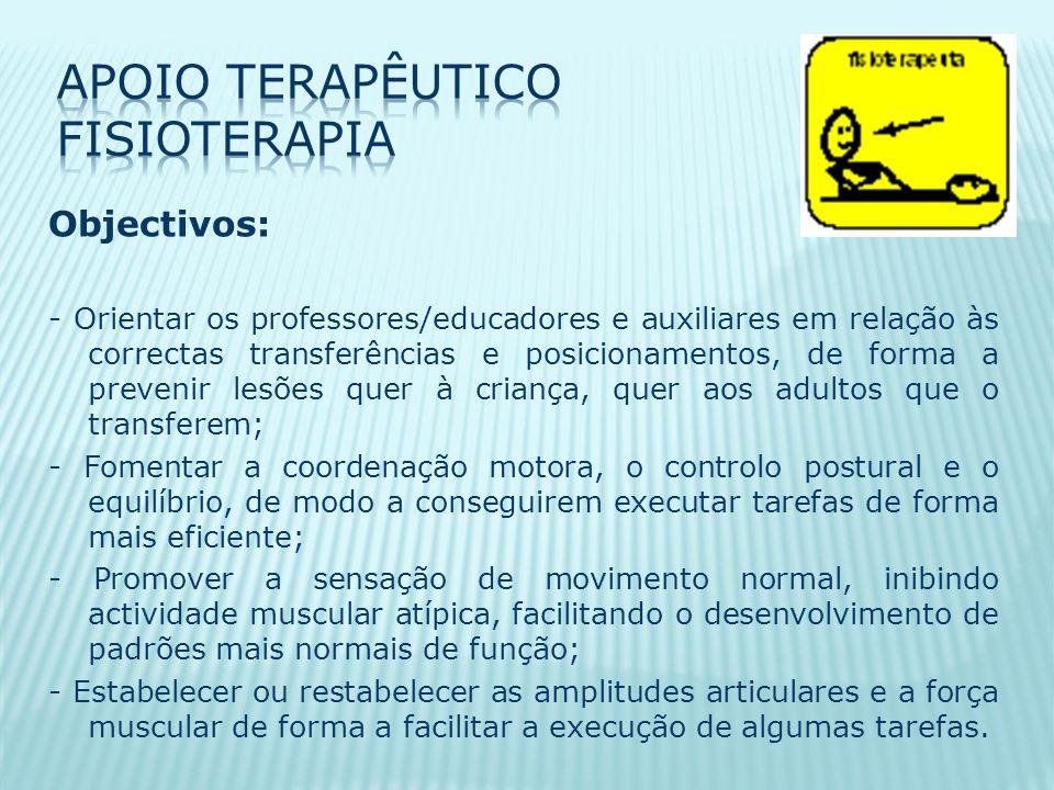 Apoio Terapêutico Fisioterapia