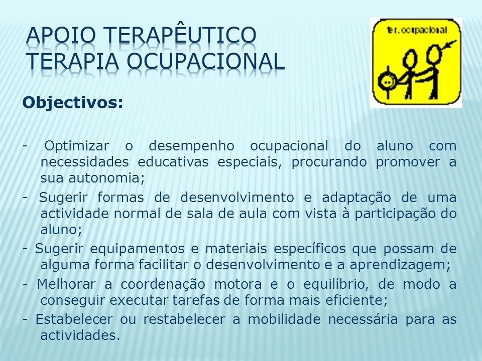 Apoio Terapêutico Terapia Ocupacional