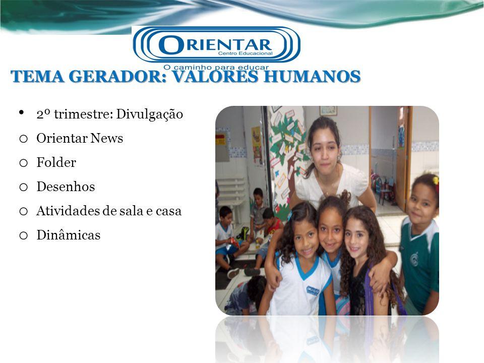 TEMA GERADOR: VALORES HUMANOS